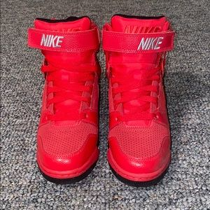 Nike Sneaker Boots/Wedges